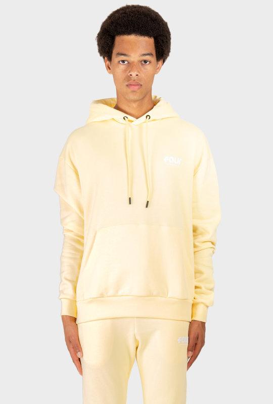 Logo Hoodie Pastel Yellow
