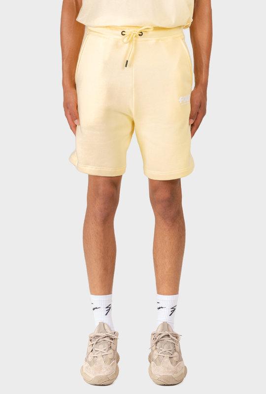 Logo Shorts Pastel Yellow