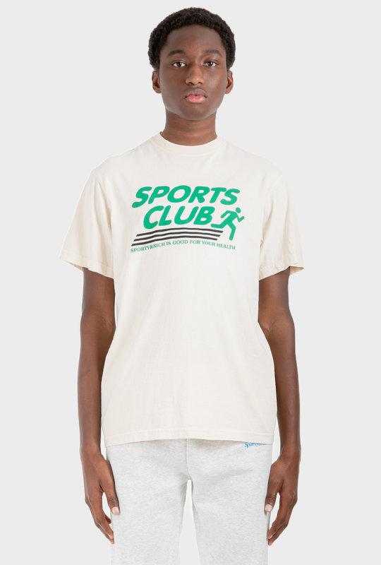 Sports Club T-Shirt Milk
