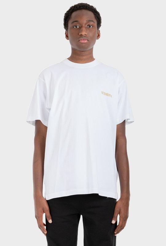Printed T-Shirt White