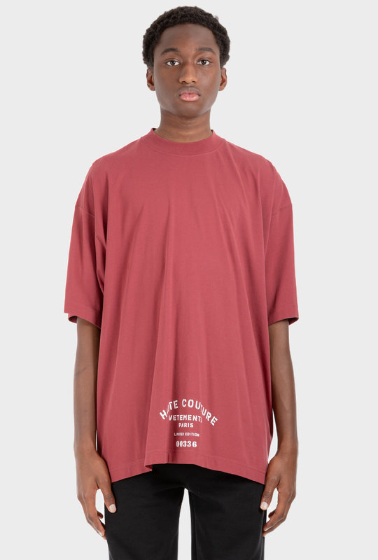 Limited Edition Print T-Shirt Red