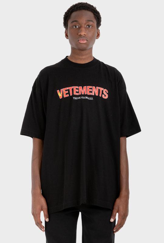 Think Globally T-Shirt Black