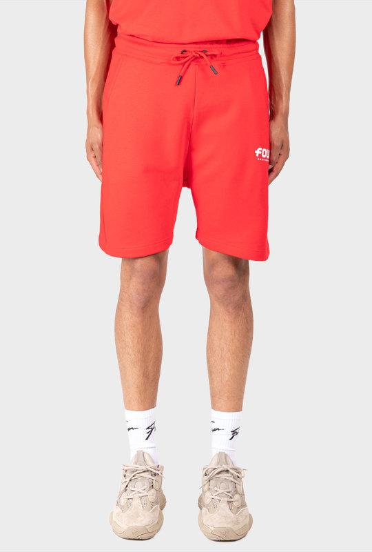 Logo Shorts Red