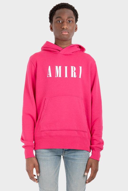 Amiri Core Logo Hoodie Pink