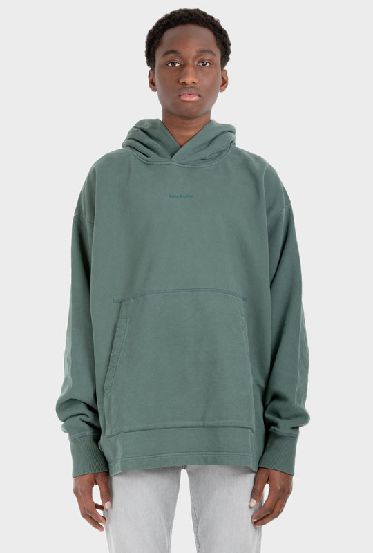 Hooded Sweatshirt Pine Green