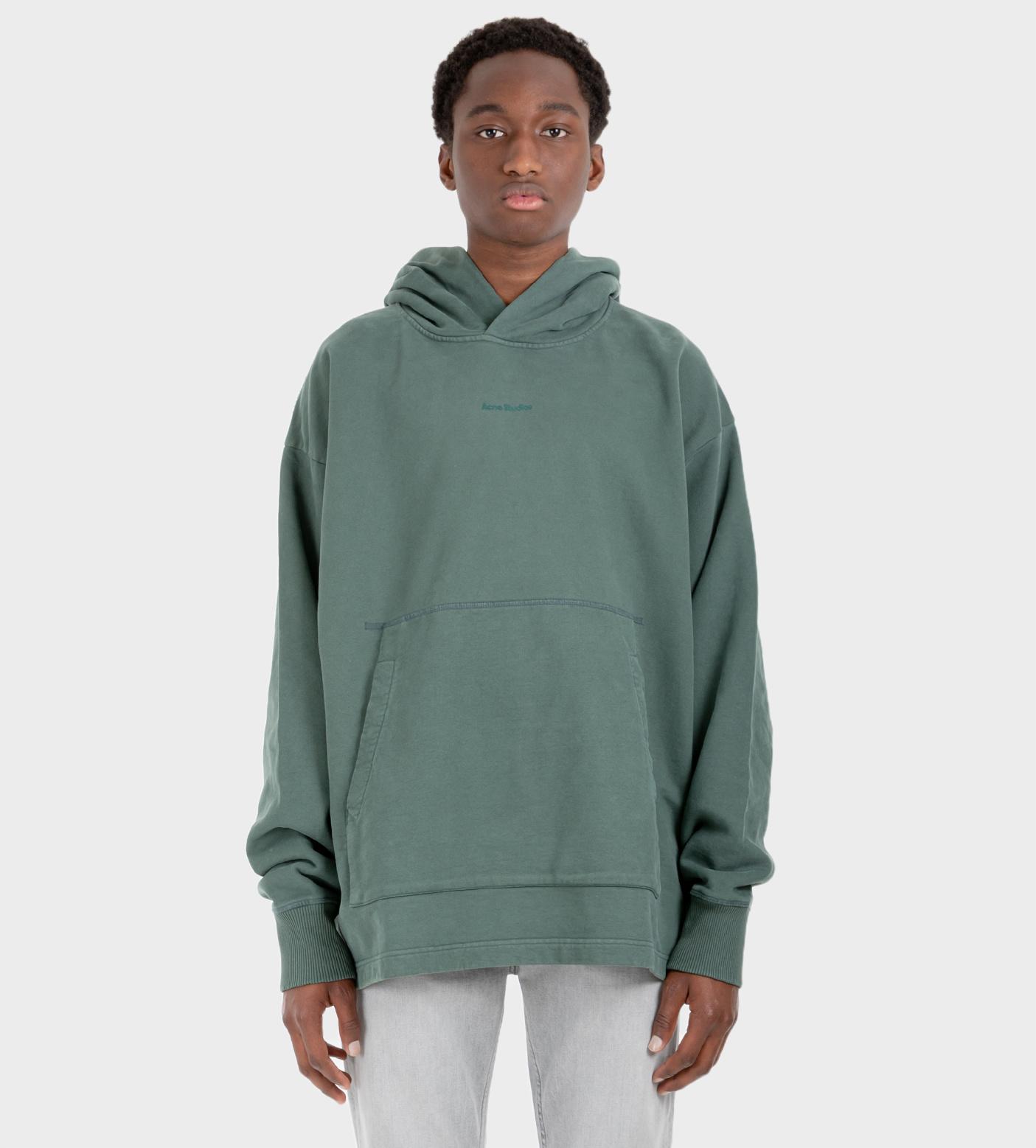 ACNE STUDIOS Hooded Sweatshirt Pine Green