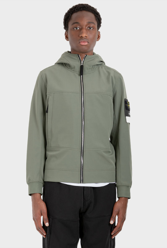 Q0122 Softshell Jacket Sage