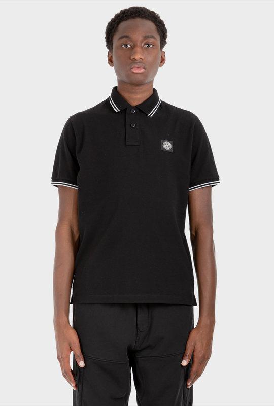 Slim Fit Polo Shirt Black
