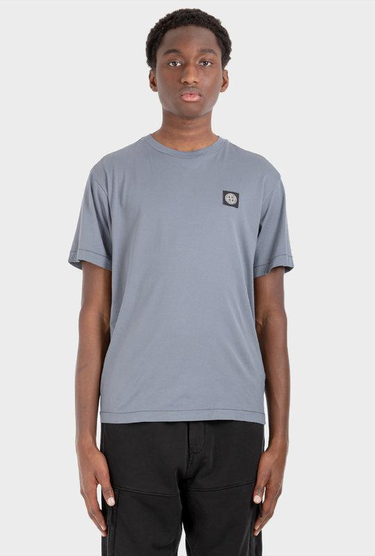Compass Patch T-Shirt Blue