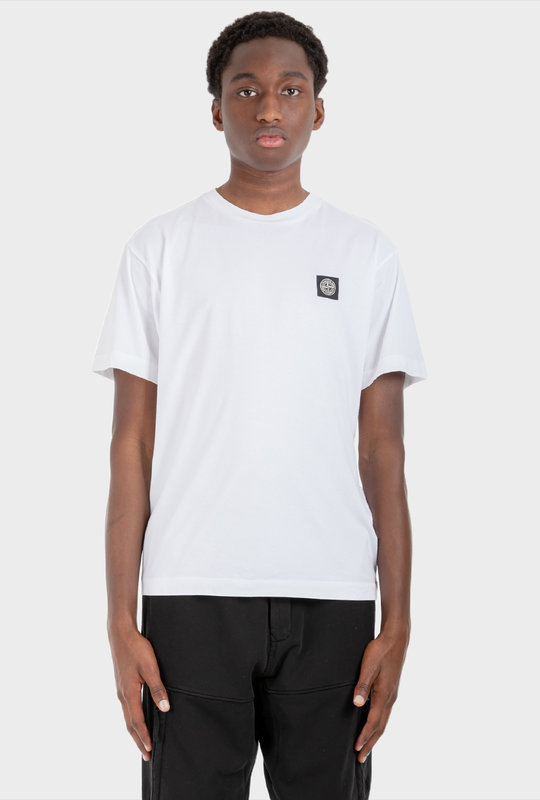 Compass Patch T-Shirt White
