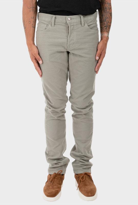 Japanese Selvedge Stretch Denim Jeans Grey