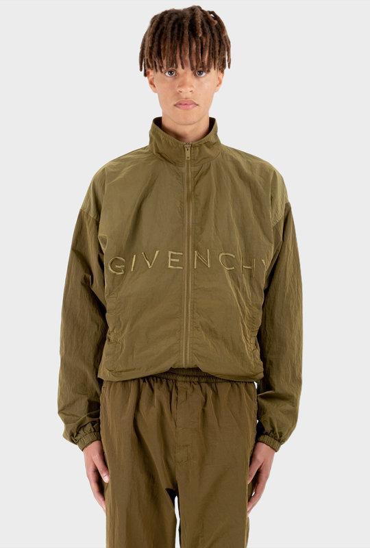 4G Jogger Jacket Shifting Nylon Green