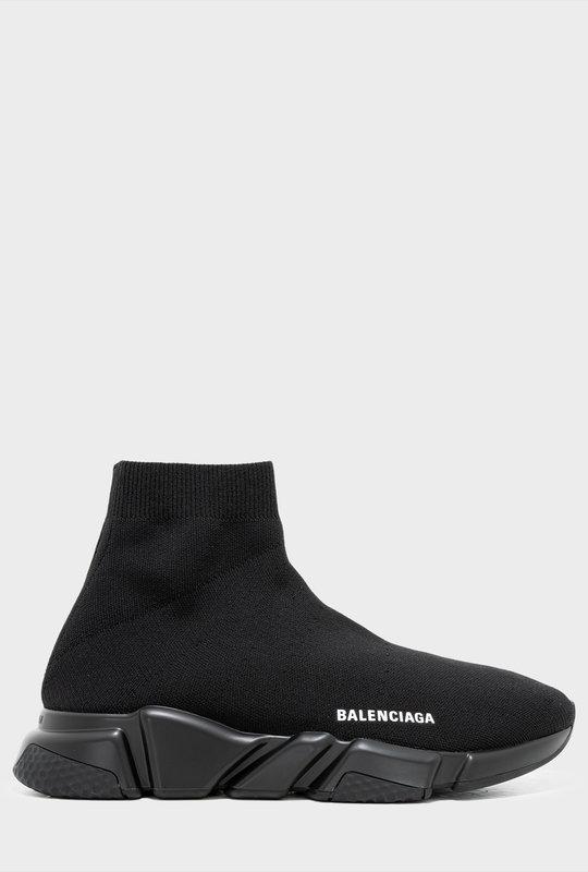 Speed Trainer Sneakers Black