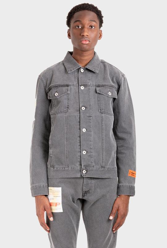 Denim Label Jacket Dark Grey