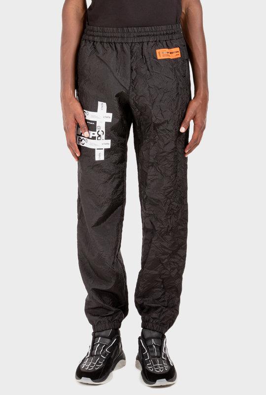 Tyvek Crinkled Pants Black
