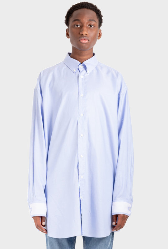 Décortiqué Organic Oxford Shirt Blue