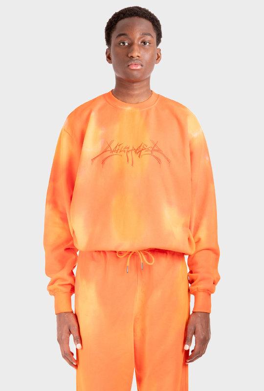 Washed Sweater Orange Lexter