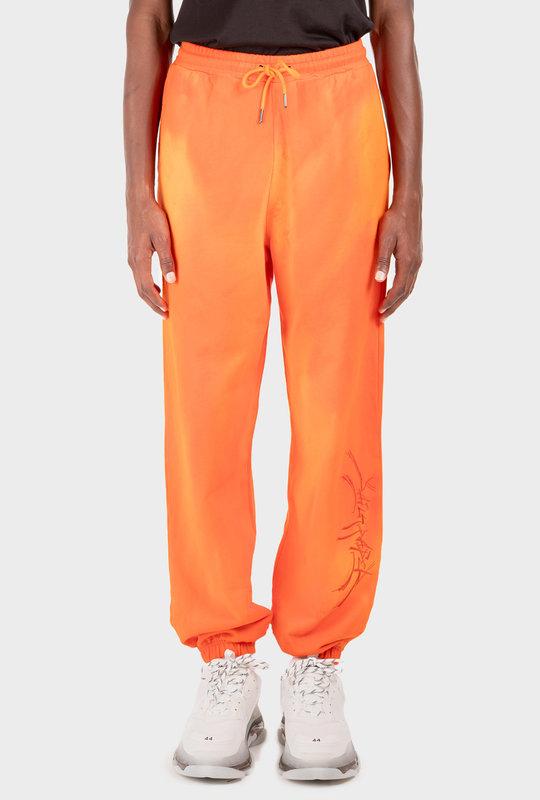 Sweatpants Washed Orange