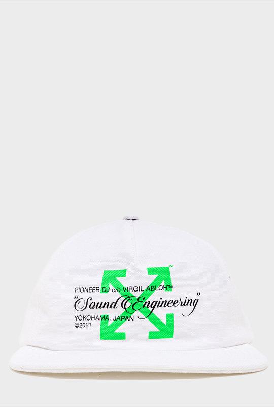 Pioneer DJ c/o Off-White™ baseball cap White