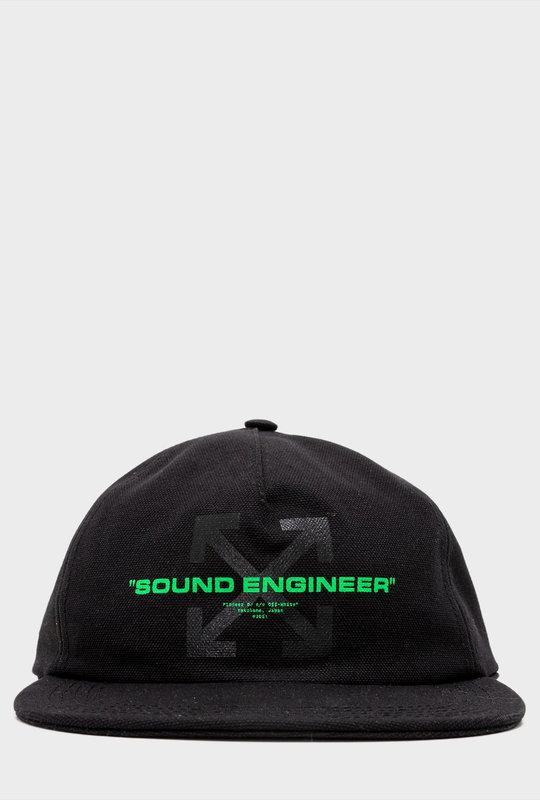 Pioneer DJ c/o Off-White™ baseball cap Black