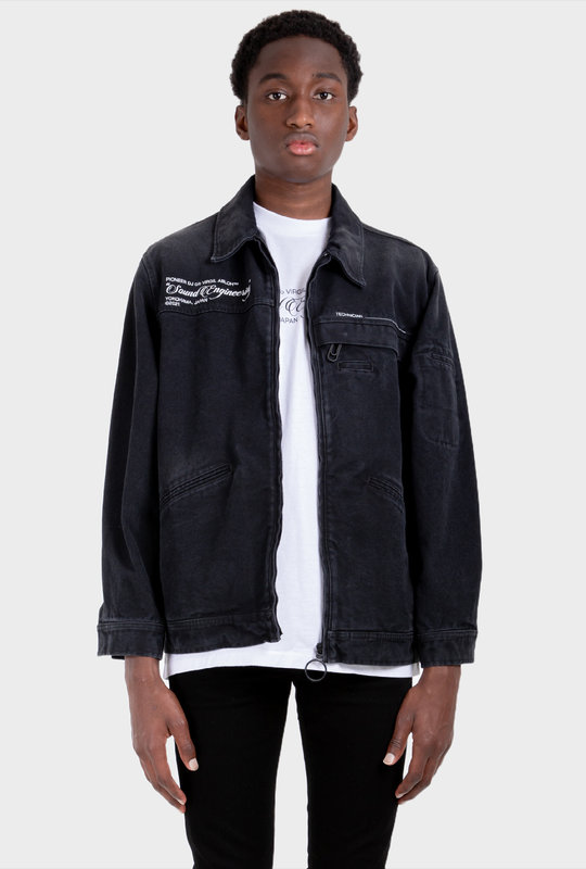 Pioneer DJ c/o Off-White™ denim jacket Black