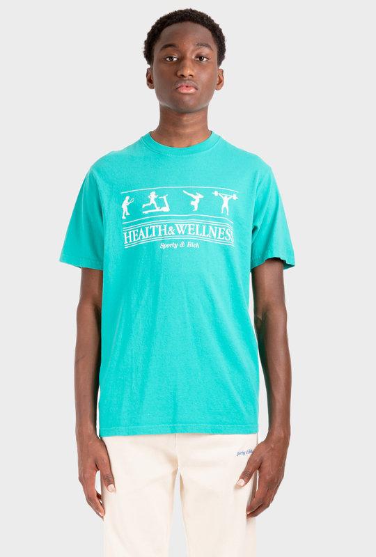 Health & Wellness T-Shirt Turquoise
