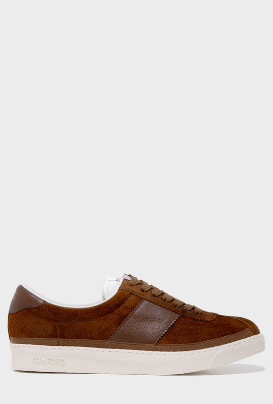 Bannister Low-Top Sneakers Brown