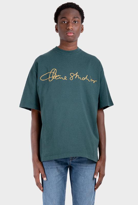 Cotton Logo T-Shirt Deep Green