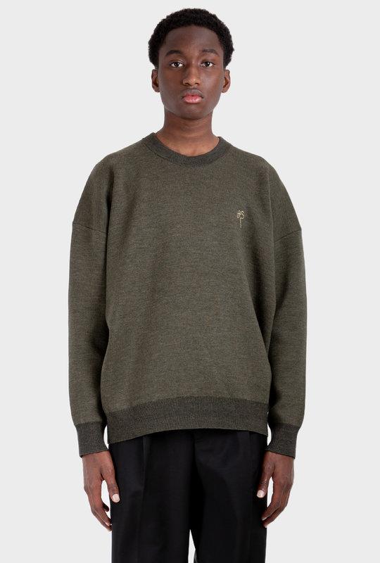 Crew Neck Sweater Anthracite Grey