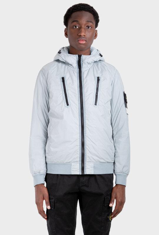 Hooded Puffer Jacket Pearl