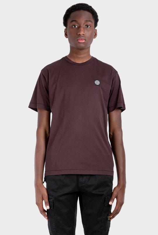 Compass Patch T-Shirt Brown