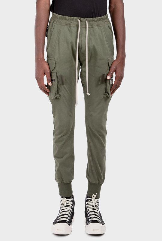 Mastodon Cargo Pocket Trousers Green