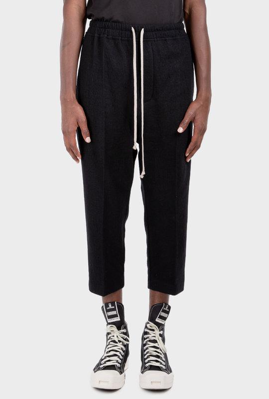 Gethsemane Bela Drop-Crotch Trousers Black