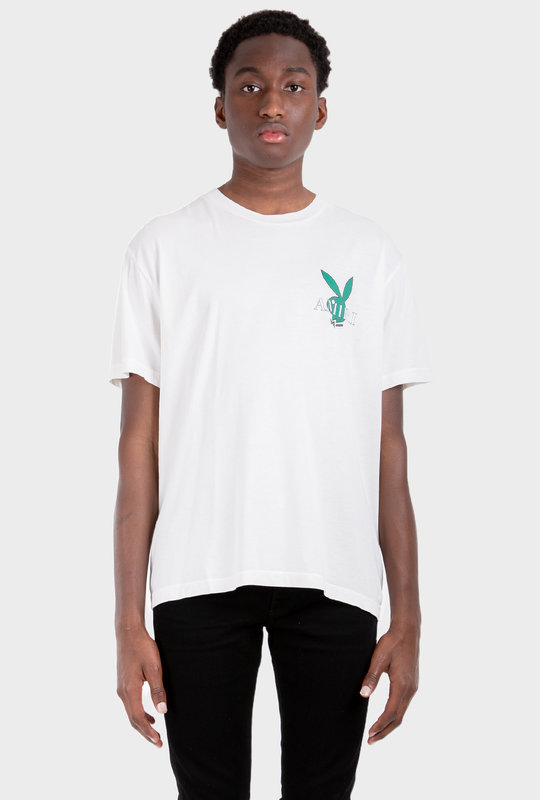 Playboy Cover Bunny T-Shirt White