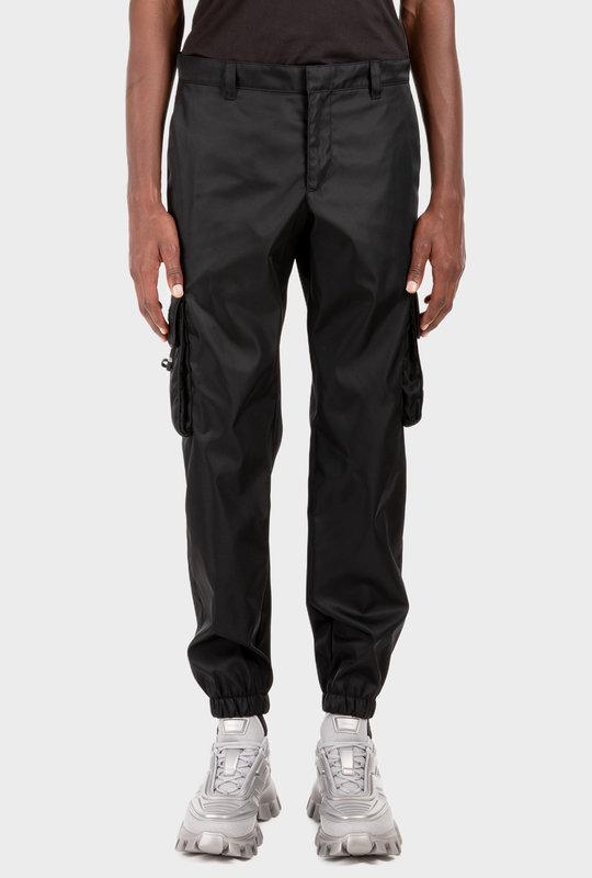 Re-Nylon Pants Black