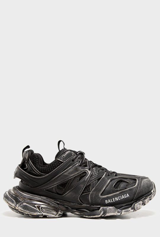 Track Faded Sneakers Black