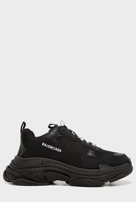 Triple S Sneakers Black