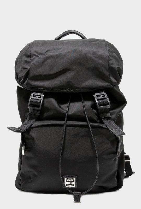 4G Light Nylon Backpack Black