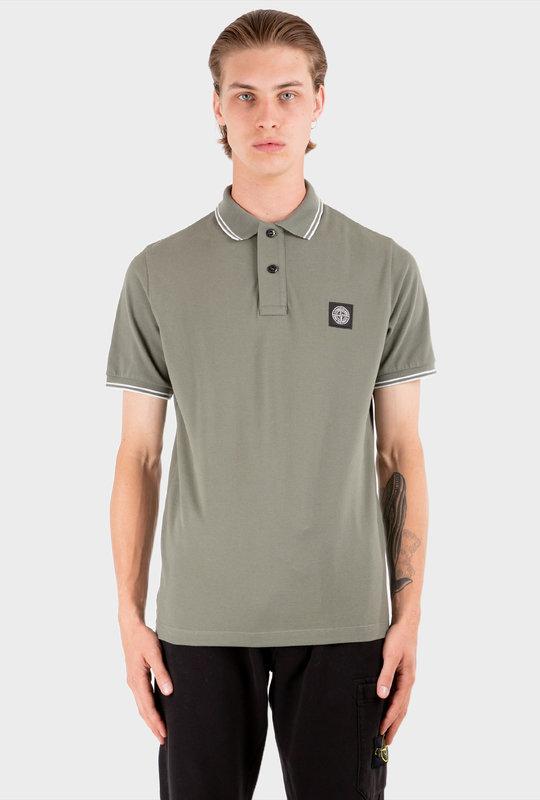 Slim Fit Polo Shirt Sage