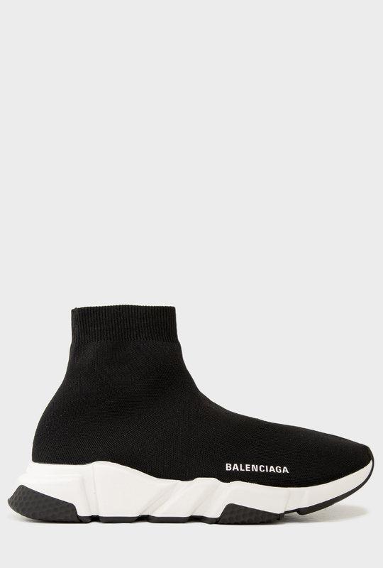 Speed Sneaker Black White