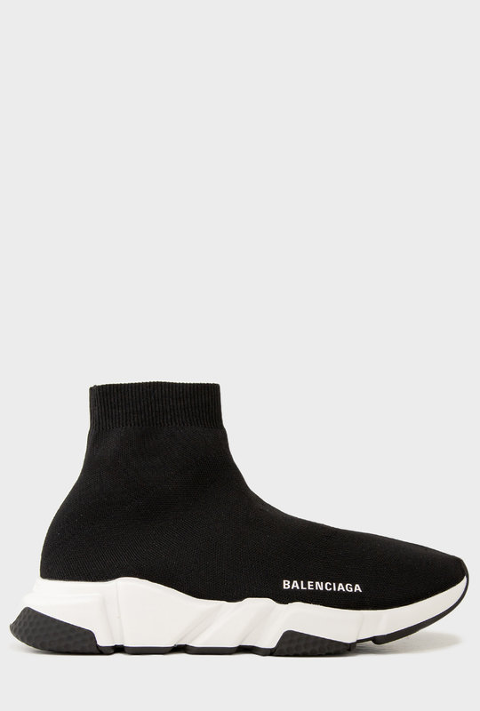 Speed Sneakers Black White