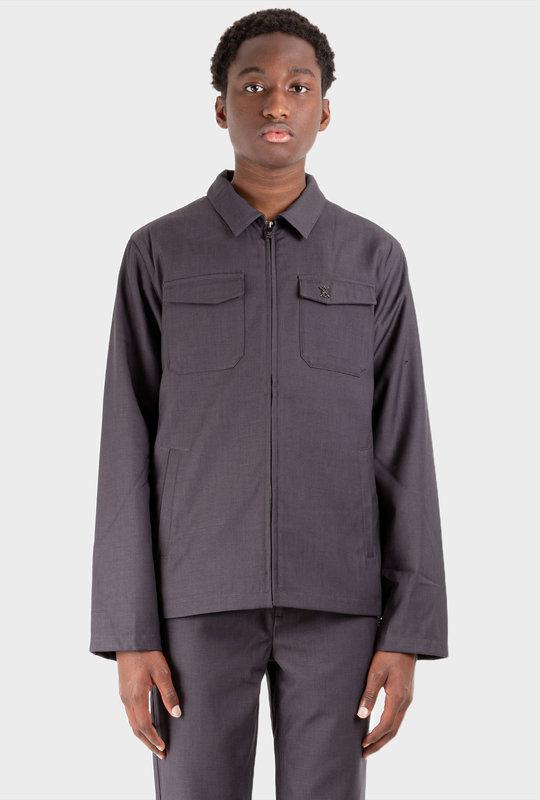 Lester Shirt Dark Grey