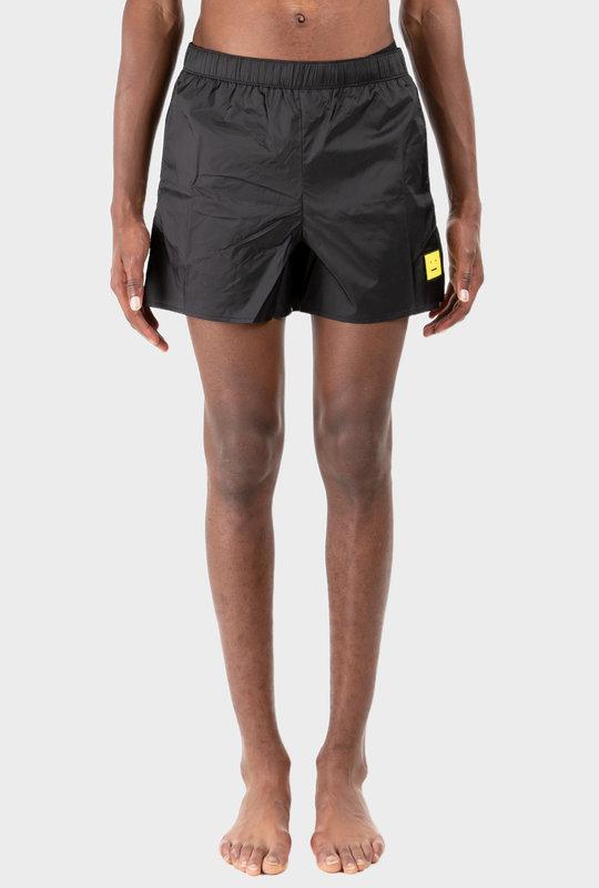 Face Swim Trunks Black