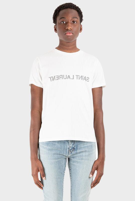 Reverse Logo T-Shirt White