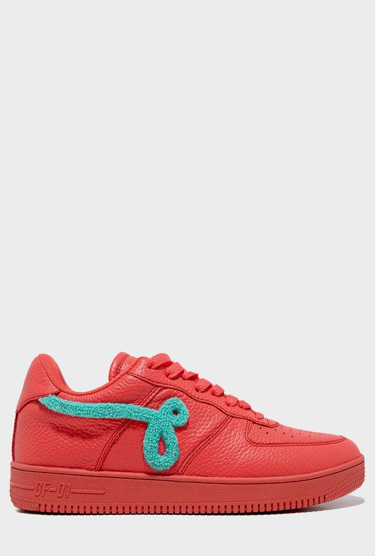 GF-01 Flock Sneaker Coral