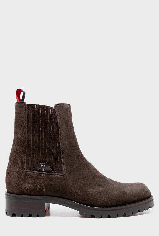 Motok Flat Boots Dark Brown