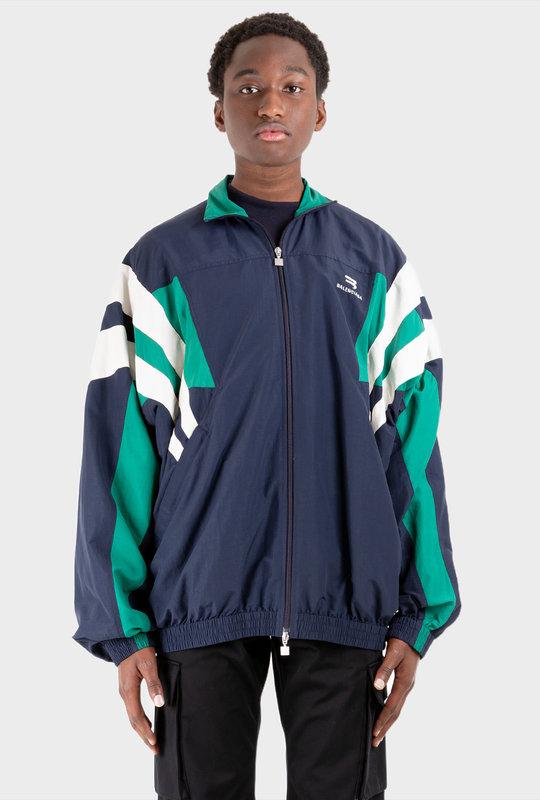 Oversized Tracksuit Jacket Navy