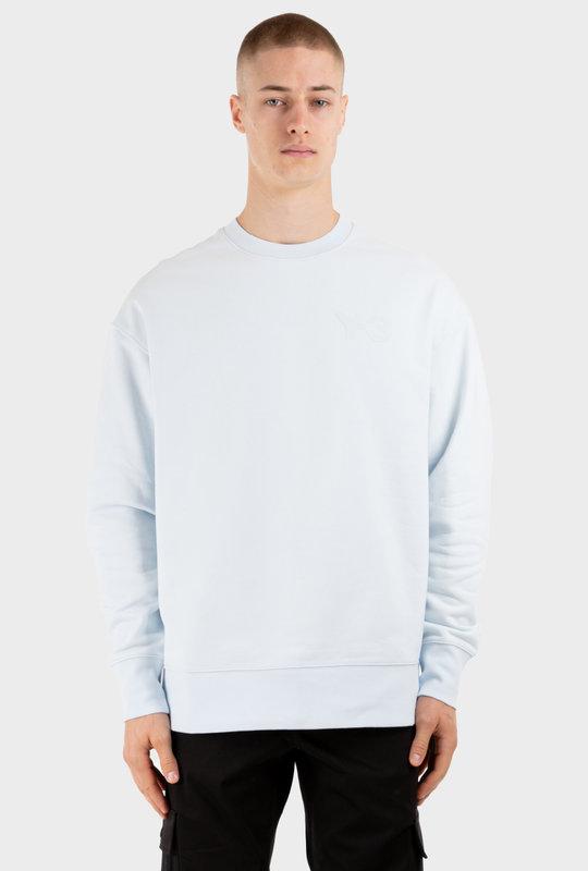 Logo-Print Cotton Sweatshirt White