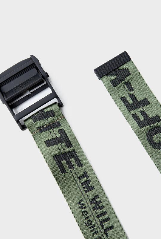 Industrial-Strap Fabric Belt Green