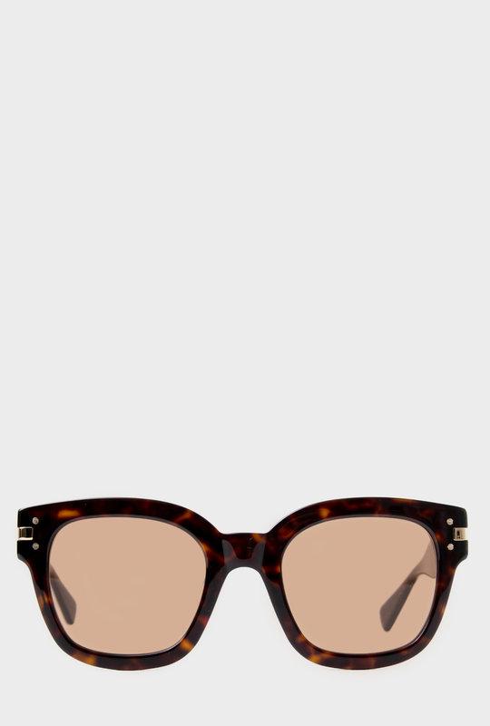 Tortoiseshell Square Frame Sunglasses